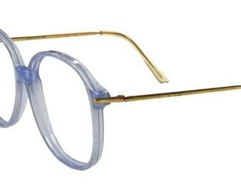 Vintage 1980's Light Blue Eyeglass Frames Never Used