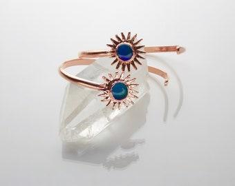 Mood Stone Cuff // Mood Cuff // Color Changing Bracelet // Mood Jewelry // Boho Bracelet // Open Cuff Bracelet
