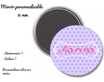 magnet magnet personalized 75 mm
