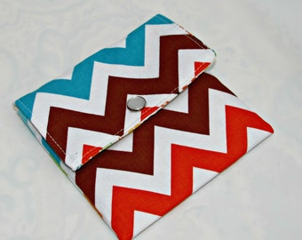 Mini wallet, Mini Pouch, Small Pouch, Card Holder, Small Wallet, Credit Card Wallet, Loyalty card case, Card Wallet,  Chevron Bermuda