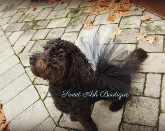 Dog Skunk Halloween Tutu Costume