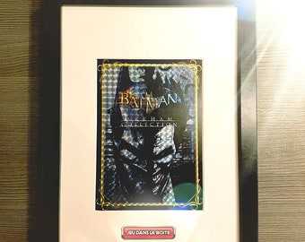 Frame BATMAN ARKHAM COLLECTION with Prism effect!