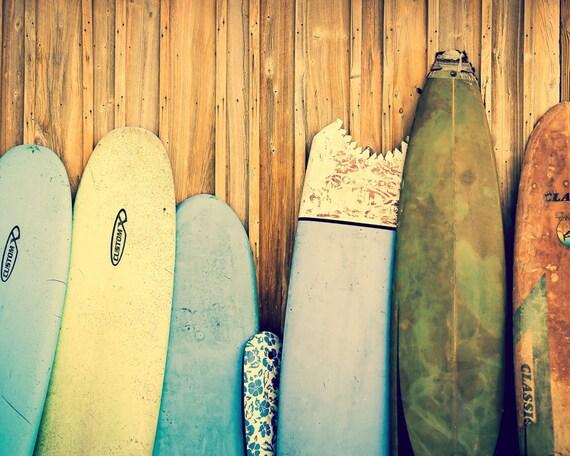 Surf Decor Surfboard Art Beach Decor Surfboard Photography