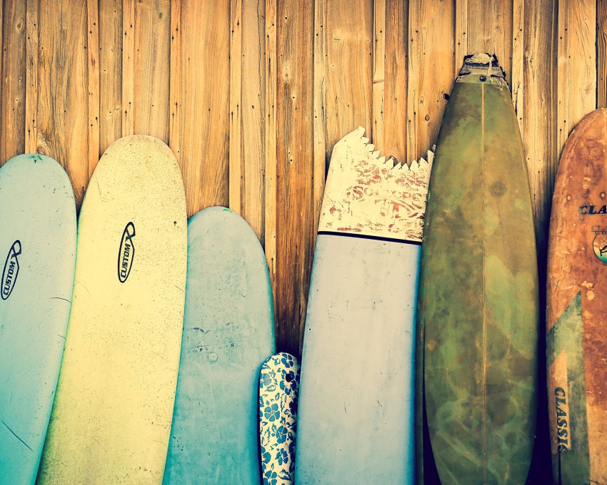 Surf Decor Surfboard Art Beach Decor Surfboard Photography