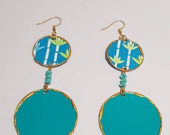 Terre d'Oriente- Albero -earrings