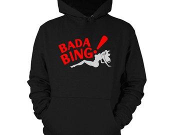 Bada Bing Hoodie Sopranos Sweatshirt Shirt
