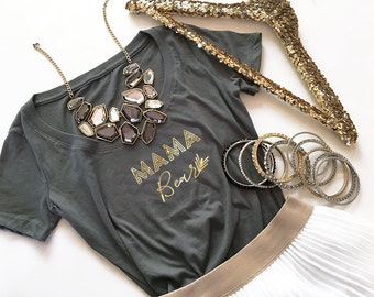Mama Bear Shirt Mama Bear Tshirt Mama Bear Top Mama to Be Shirt Mom to Be Gift Mom to Be Shirt (EB3160BBY)