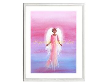 Blessings Art Print, Part of the Angels Rising Series, Spiritual Art, Feng Shui Art, Healing Art, Art & Collectibles