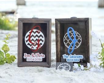 Sand Ceremony Box - Wooden Ceremony Sand Box - Beach Wedding Sand Box - Sand Ceremony Box - Unity Sand Ceremony Box