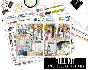 Spring Forward - Weekly Kit - Planner Stickers - 400+ stickers