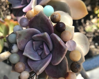 Organic Stone Bracelet