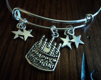Birthday Star bangle