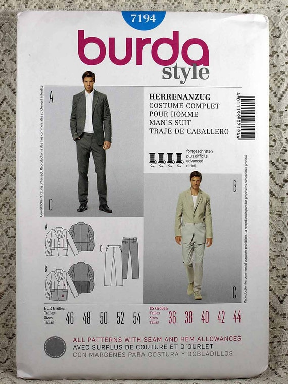 Dorable Suit Sewing Pattern Mold - Knitting Pattern Ideas ...