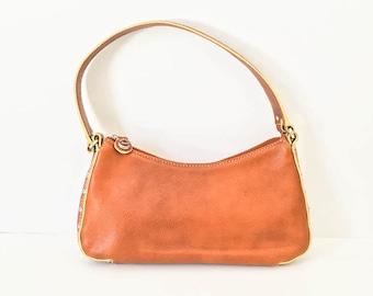 Cole Haan handbag - Leather purse - Cole Haan purse - Leather handbag - Purse - Brown leather handbag - Cole Haan bag