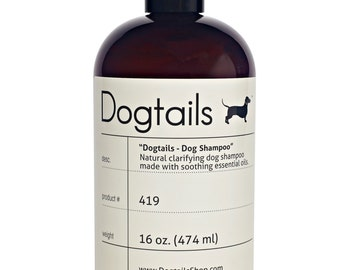 DOG SHAMPOO - DOGTAILS