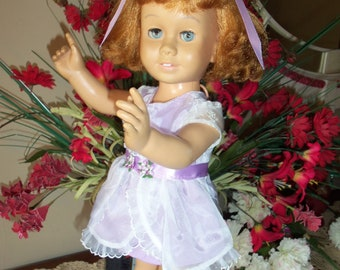 Prototype No Stamp, Beautiful Strawberry/Blonde 50's Chatty Cathy PLEASE READ