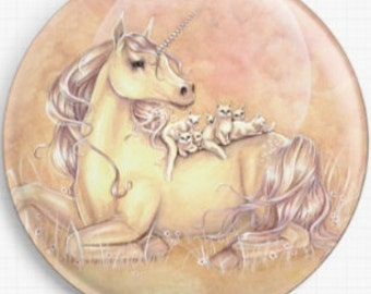 Unicorn Needle Minder, Licensed Art, Purrfect Friends, Selina Fenech, Cross Stitch Keeper, Angel, Fridge Magnet,  Cross Stitch Accessory