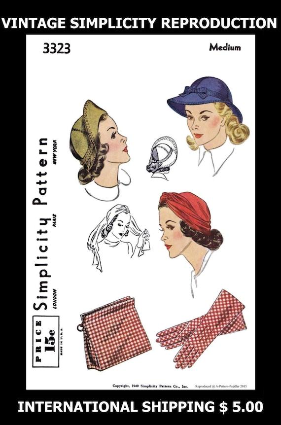 Hermosa Quimio Patrón De Costura Sombrero Galería - Ideas de ...