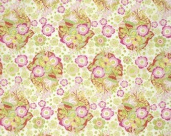 1 Yard Baby Bouquet by Anna Maria Horner Folk Song for Freespirit Fabric Unwashed Quilting Cotton Rare, HTF, OOP Floral