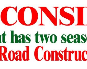 Winsconsin Bumper Sticker