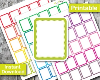 Sales! Full box Planner , Printable Planner, Printable Sticker, Erin Condren Planner Sticker
