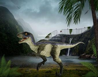 Dinosaur Digital Background