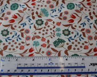 Chieveley by Lewis & Irene A241 in Navy Blue, Pink or Cream Patchwork Quilting 100% Cotton
