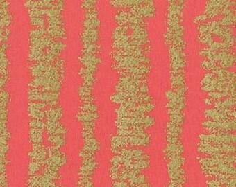 METALLIC Shell Glitz Bars, Glitz Garden, Michael Miller Fabrics