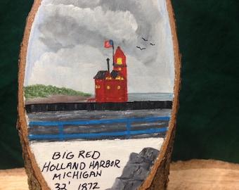 Holland Harbor Michigan Lighthouse