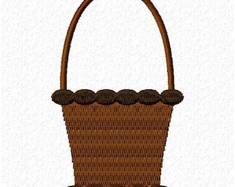 Easter Basket Embroidery Design - Instant Download