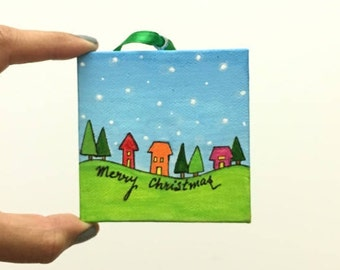 Christmas Ornaments, Christmas Decorations, Unique Christmas Gift, Custom Christmas Ornaments, Free Shipping in USA