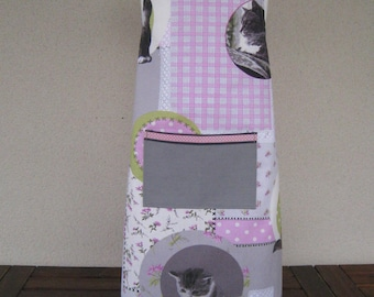 "child apron 6-10 years ""Cats"""