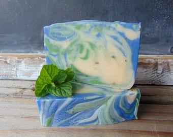 Peppermint Rosemary Artisan Soap