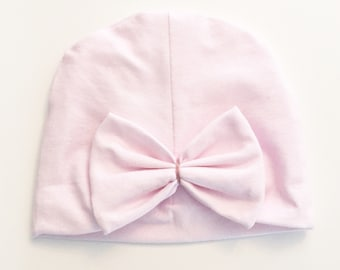 Cute bow for baby girl Hat newborn cute blush pastel pink baby gift baby accessories baby girls accessories