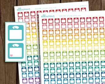 Gym Planner Stickers Printable workout exercise health