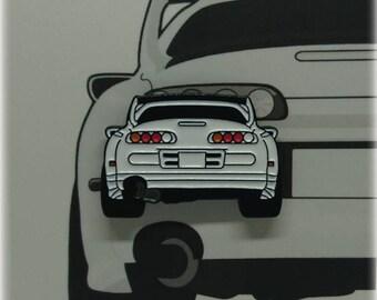 Toyota Supra Enamel Pin
