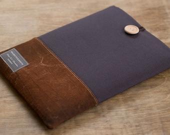 iPad Pro case iPad Air 2 case, Custom 10 inch Tablet sleeve, Kindle fire HD 8.9, Nexus 10, Surface, Galaxy, eReader / Charcoal