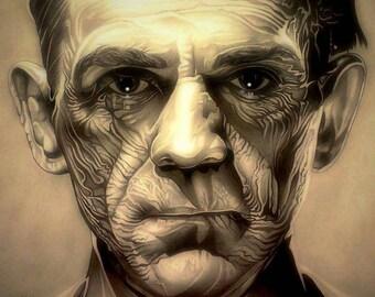 Boris Karlov portrait by Fred Larucci