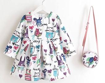 Pretty Girl dress and purse set