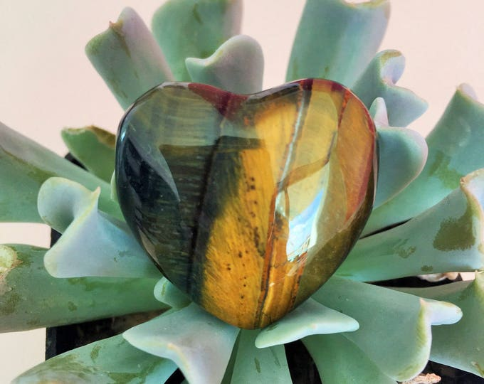 Tigers Eye Heart/ Healing Crystals and Stones