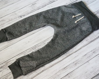 KIDS GREY JOGGERS - grey sweatpants - baby heather sweats - baby jogging outfit - heather grey sweatpants - baby lounge pants - toddler