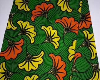 Ethnic Fabric/yard-african fabric-ankara fabric-african textile-supreme wax-global fabric-sewing fabric-wax holland-wax print