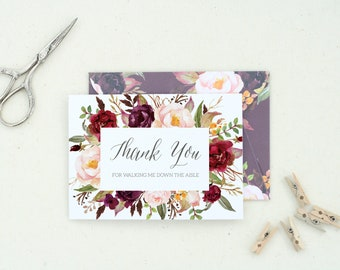 Thank You Cards. Thank You Gift. Mother of the Bride Gift from Daughter. Mother of the Groom Card. Mom on Wedding Day. Sister Gift. 56