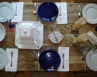 "Driftwood Table, Beach House Table  (84""L x 34""W x 29""H)"