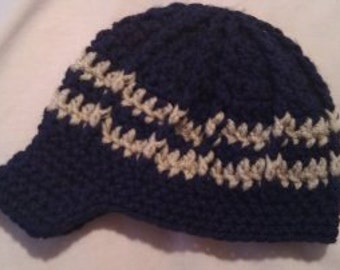 Crochet Baby Hat, Baby Beanie Hat, Crochet Beanie Hat, Baby Boy Hat - Baby Photos - Newborn and Baby Sizes Available