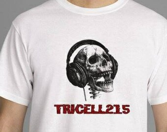 "TRICELL 215-  "" Head phones 2 headstones"""
