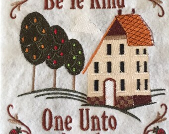 Be Ye Kind to One Another