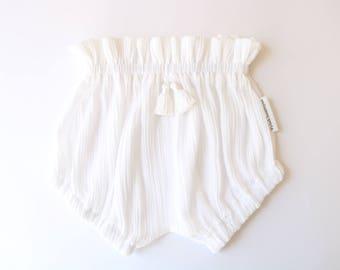 White tassel Shorts
