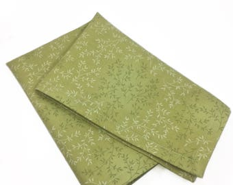 Mosses the Leafite Pocket Square