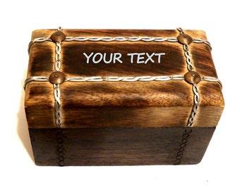 Personalized Cigar Box, Valentine Men Box, Personalized Gift Valentine Box, Unique Men Gifts, Office Box, Engraved Men Box, Vintage Box